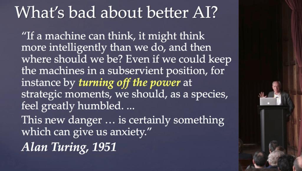 AI: Humans 2.0: Alan Turing