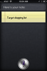 Apple iphone 4s siri as virtual assistant reminder location