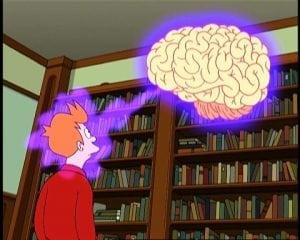 AI: Humans 2.0: Futurama: Fry against the Brains