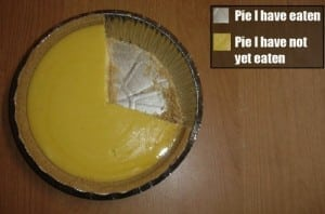 web site data google analytics pie chart