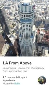 Experiences: Fly high over Los Angeles with Robin