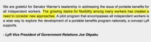 Gig Economy Friends with Benefits: Lyft VP Joe Okpaku