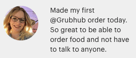 Grubhub and other Gig Delivery Platforms