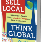 Sell Local Think Global by Olga Mizrahi Book Cover, digital marketing books