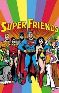 super friends poster - freelancers are hiring each other