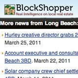 BlockShopper.com Sample Listing for Long Beach California
