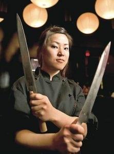 Gig Economy Industry Spotlight: Translation Services - female Japanese sushi chef