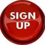 big ass sign up button