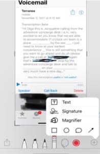 iphone screengrab
