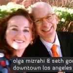 Olga Mizrahi and Seth Godin