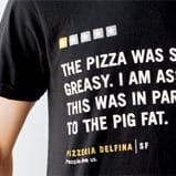 pizza yelp review becomes t-shirt