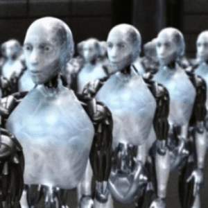 When the Robots take over, Stay Human!: An army of robots
