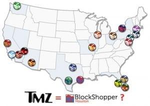 is blockshopper and tmz the same just local gossip