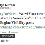 twitter for word of mouth marketing
