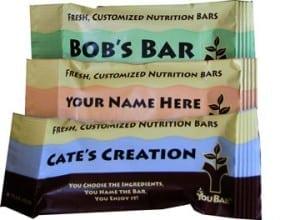 custom energy bar